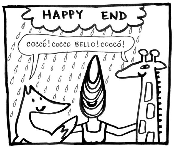 Dokonce jsme se naučily italsky se správným přízvukem - od plážového prodavače kokosu