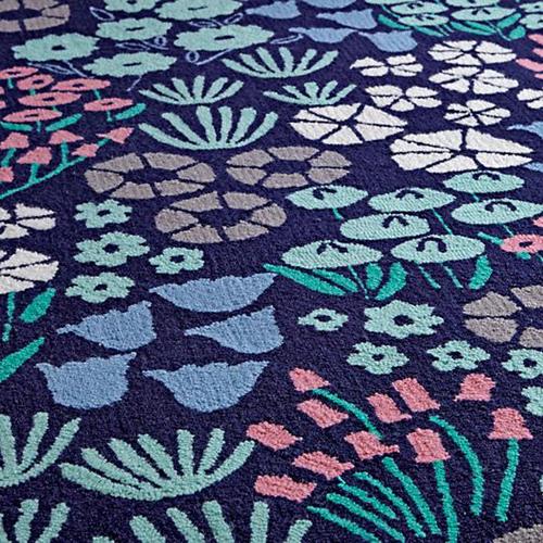 local-flora-rug-blue